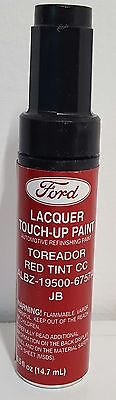 NOS OEM Ford Lacquer Touch Up Paint TOREADOR RED TINT CC ALBZ-19500-6757A  JB