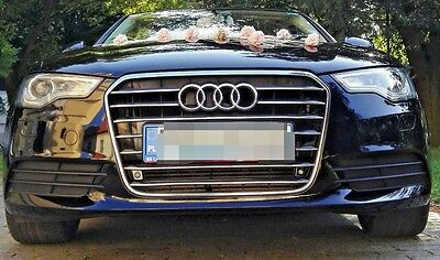 Audi A6 C7 4G5 4GD 4GH 4GJ 4GC 4G2 CHROME Kit Front Grille Covers 3M Trim Tuning
