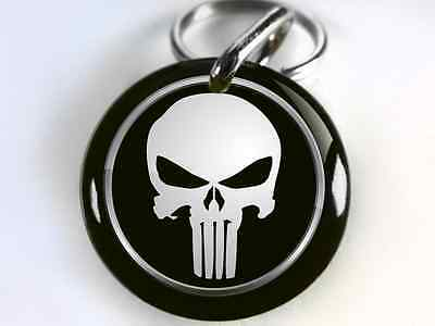 Punisher comic character CUSTOM Pet Dog Cat ID Tag personalized