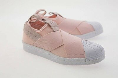 Adidas Women Superstar Slip-On pink halo pink footwear white S76408