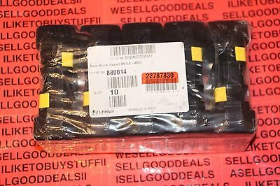 (10) Littelfuse 880014 Fuse Blocks MEGA-AMG 500A New