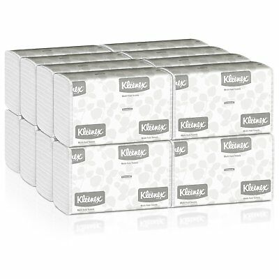 *NEW!* Kleenex Paper Towels Multi-Fold 1-Ply 9.3 X 9.4 Inch Soft Case of 2400
