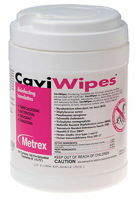 CaviWipes Multi-Purpose Disinfectant Pull-Up Wipes, Case of 1920, FREE SHIPPING!