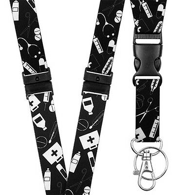 Pattern Lanyard Neck/Strap - Medical - Key - Id Holder - Phone