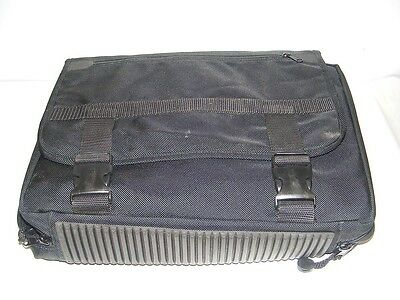 Jensen Black Double Sided Tool Bag  Electronic Equipment Installation
