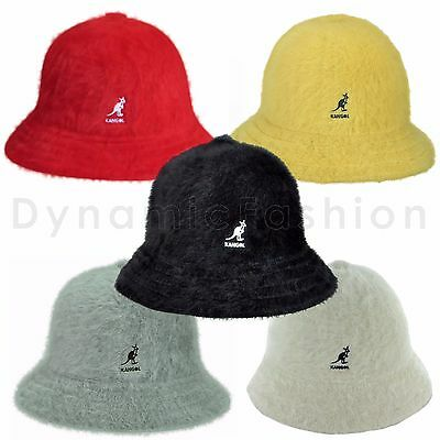67425f6dab3 Authentic KANGOL Furgora Real Fur Casual Bucket Cap Hat K3017ST Sizes S M L  XL