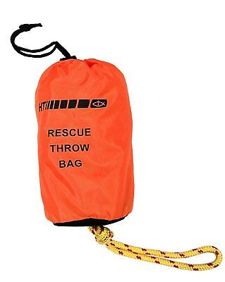 """HT Rescue Throw Bag - Safety Rope For On Water - 100 feet, 3/8"""" Thick #RTB-100"""