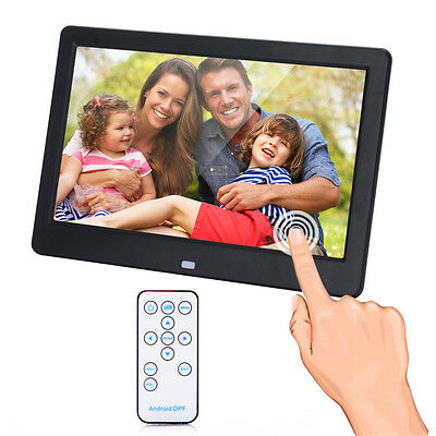 "10"" Digital Photo Frame Wi-Fi Cloud Intellegent Picture Display Movie Play Touch"