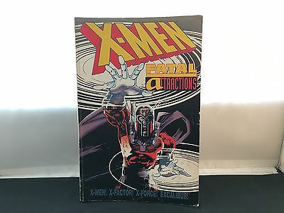 X-Men Fatal Attractions First Printing 1994 First Edition Graphic Novel Comics
