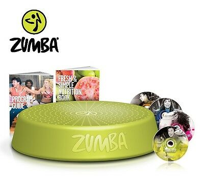 Zumba Incredible Results DVD-Set + Zumba Step Rizer