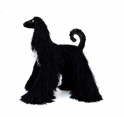 Collectibles Animals, black afghan hound, cute plush toy, stuffed animals,