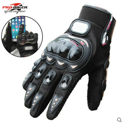 Touch Screen Gloves Bike Motorcycle Cycling Racing Full Finger Sports Pro-biker