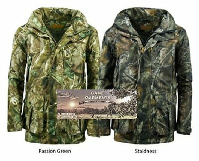Men's Camouflage Stealth Field Waterproof 3 in 1 Jacket. Hunting / Shooting