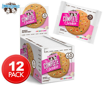 12 x Lenny & Larry's The Complete Cookie Birthday Cake 113g