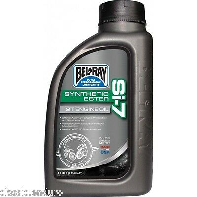 Bel Ray High Performance Si-7 2T Engine Oil Fully Synthetic 2 Stroke Motocross