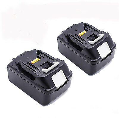2x For Makita 18V 3.0AH BL1830 BL1815 LXT Lithium Ion Battery Cordless