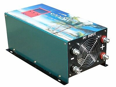 5000W LF PURE SINE WAVE POWER INVERTER DC24V to AC 240V/Battery Charger,AU SHIP