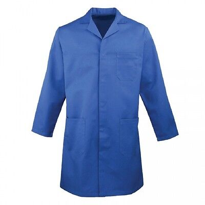ROYAL BLUE LAB COAT Jacket Medical Warehouse Technician