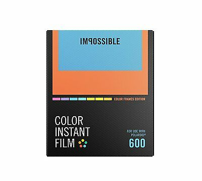 Impossible NEW: Colour Frame Edition for Polaroid Type Film P600, New Formula