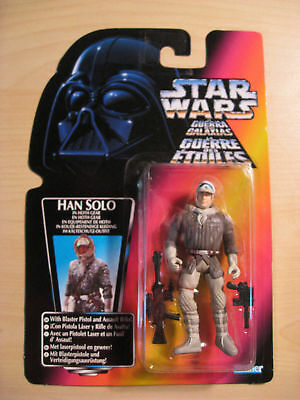 Star Wars/ The Power of the Force - Han Solo in Hoth Gear Action Figure - 1995
