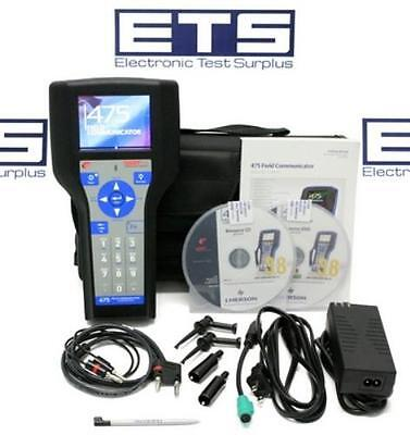 Emerson Hart 475 Field Communicator Hart Graphics Bluetooth Device Config Manage