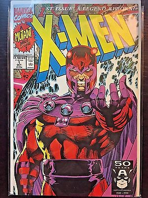 X-Men (1991 1st Series) #1D 9.4 NM Near Mint Marvel Comics High Grade Magneto