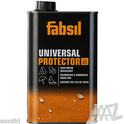 Grangers Fabsil UV Waterproofer Sealant Waterproofing Awning Tent Canvas 2.5l