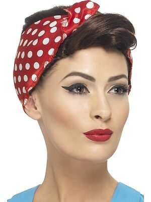 New Adult Women Brown 40's Rosie Wig Costume Accessory