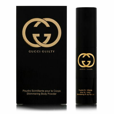 Gucci Guilty for Women 0.1 oz Shimmering Body Powder Brush Brand New