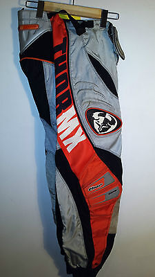 Thor Mx Motocross Pants, Size 30 Red/grey