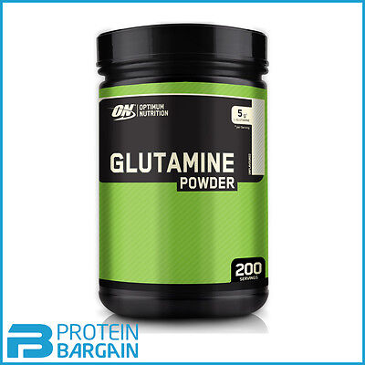 Optimum Nutrition Glutamine Powder 1.05kg (2.31lb) 200 Serve ON L-Glutamine 1kg