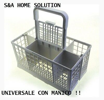 Basket Universal For Dishwasher Cutlery Holder Featuring Handle. High Quality