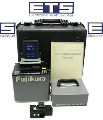Fujikura FSM-30S Arc Fusion Splicer With Precision Fiber Cleaver