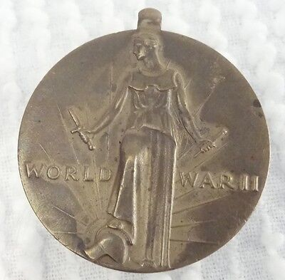 B Vintage Brass Token United States America 1941 WW II World War 2 WWII