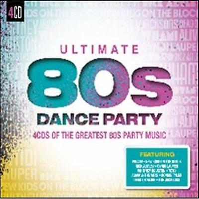 ULTIMATE 80s DANCE PARTY VARIOUS ARTISTS 4 CD NEW