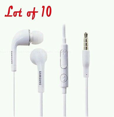 Lot of 10 Original Quality For Samsung Note 7 S7 Headset Earphone headphones