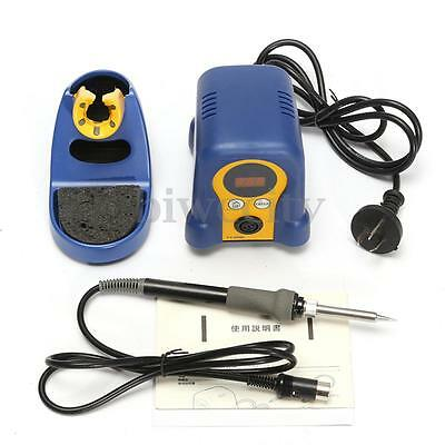 FX-888D Digital Soldering Station Soldering Iron With Stand LCD Repair Tool 220V