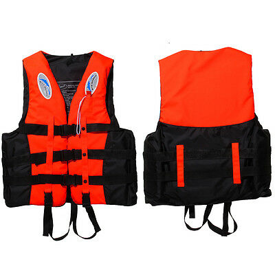 BUOYANCY AID Adult Swimming Boating WATERSPORT IMPACT VEST LIFE JACKET +WHISTLE