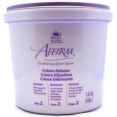 Avlon Affirm Creme Relaxer (Step 2) 4lbs + FAST FREE DELIVERY