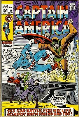 Captain America #127 - FN/VF