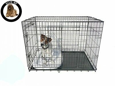 Ellie-Bo Divider for Dogs Pets Crate Cage, Large, 36-Inch, Black - DIVIDER ONLY