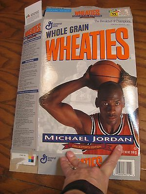 Wheaties Michael Jordan - Limited Collector's Edition Empty Cereal Box 1994