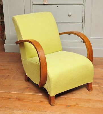 Stunning Vintage French recovered Retro Armchair