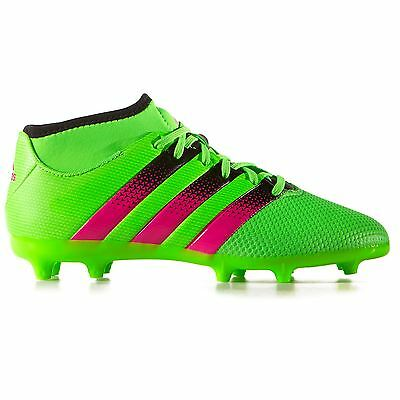 375d10780 Adidas Men s Ace 16.3 Primemesh FG AG Soccer Cleats Green AQ2555 size 11.5