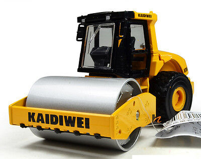 Drum Compactor Roller 1:50 Construction Vehicles Diecast Model Toy