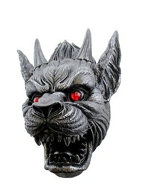 """Large 17""""H Ward Against Evil Gargoyle Protector Wall Mounted Hanging Sculpture"""