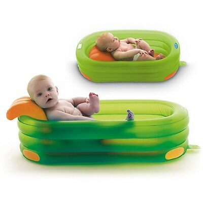 Jane Deluxe Inflatable Bath Colours Collection 4 Positions Lime Green New Boxed