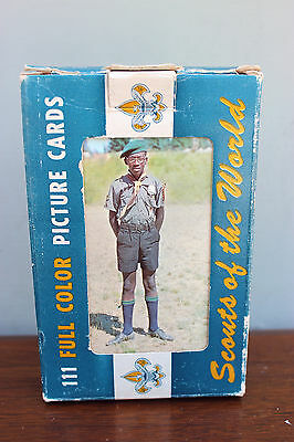 Vintage Scouts Of The World Picture Post Cards 111 Countries High Gloss Color