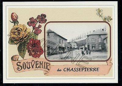 CHASSEPIERRE - ...... gare...   souvenir creation moderne serie numerotee