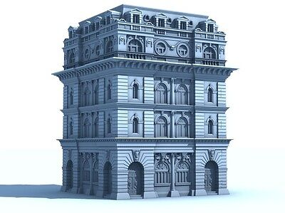 Victorian Office Building for 28mm Wargaming